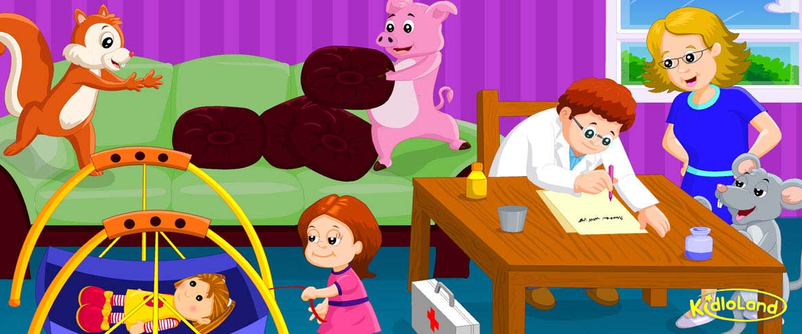 Miss Polly Had A Dolly   Nursery Rhymes App for Kids - Android ...
