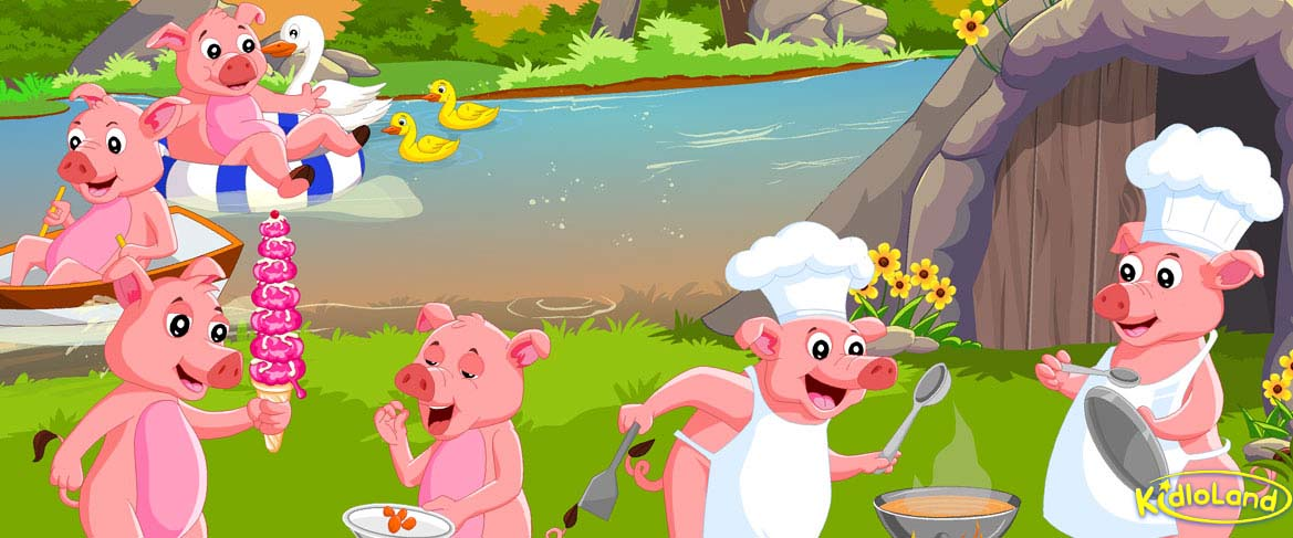 Round And Round The Garden | Nursery Rhymes App for Kids - Android ...