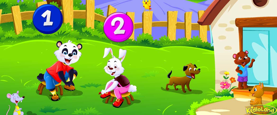 One Two Buckle My Shoe Nursery Rhymes App For Kids Android Iphone And Ipad